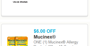 Allergy Season – Get your Allergy Medicine Coupons