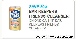 Bar Keepers Friend – I Use That S**t on Everything