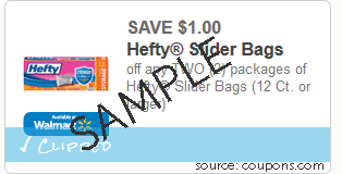 Glad Slider Bags for $1 – Market Basket Deal