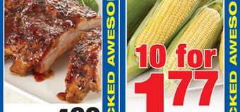 Sale Cooking – Fall Off the Bone BBQ Baby Back Ribs with Corn