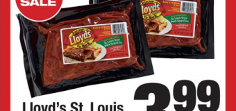 BBQ Coupon Matchup – Lloyd's Ribs for only $2.99