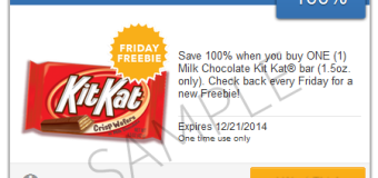 Freebie Friday From Savingstar – FREE Kit Kat Bar